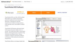 TouchWorks EHR Software - 2019 Reviews, Pricing & Demo