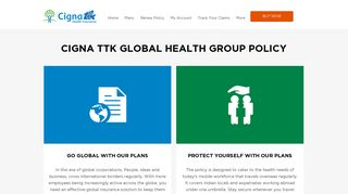 Global Corporate Insurance For Your Multinational ... - Cigna TTK
