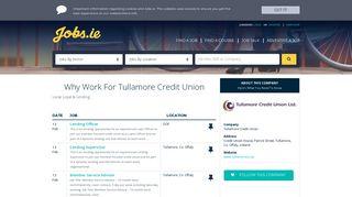 Tullamore Credit Union - Jobs.ie