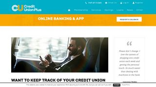 Online Banking & App from Credit Union Plus