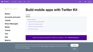 Overview — Twitter Developers