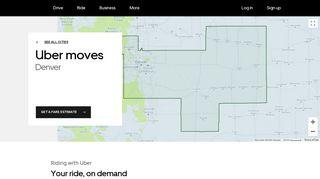 Ride - Drive - Earn Money - Uber Denver | Uber