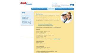 Contact Us - UEI Financial