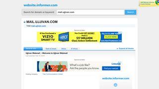 mail.ujjivan.com at WI. Ujjivan Webmail :: Welcome to Ujjivan Webmail