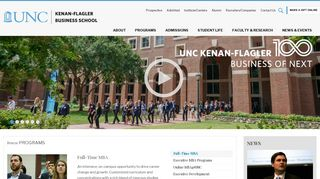 UNC Kenan-Flagler Business School - Top MBA Program - Top MBA ...