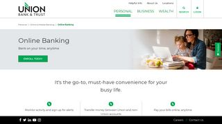 Online Banking | 24/7 Banking Services | Union Bank & Trust