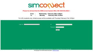 SIMGE | SIMConnect Sign-in