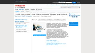 UniSim Design Suite – Free Trial of Simulation Software Now Available