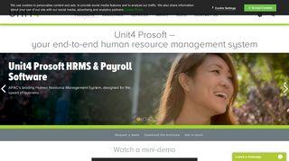 Unit4 Prosoft HRMS