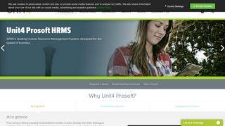 Prosoft HRMS: Human Resource/Payroll Software   Unit4 Singapore