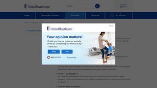 Employer eServices | UnitedHealthcare