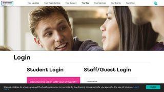 Login - Hertfordshire Students' Union