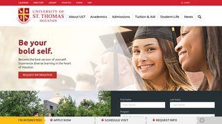 University of St. Thomas | Catholic University Houston, Tx