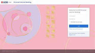 UOB   Personal Internet Banking