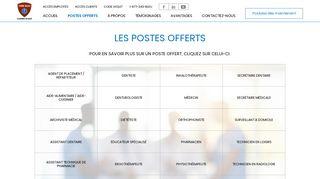 Postes offerts - Code Bleu - Placement en santé, Infirmière, agence de ...