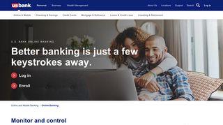 Online Banking   U.S. Bank
