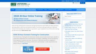 30-Hour Training - USFOSHA.com