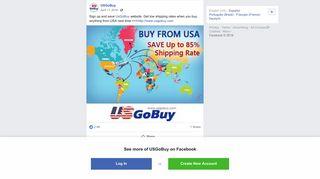 USGoBuy - Sign up and save UsGoBuy website. Get low... | Facebook