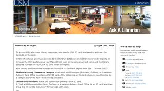 Q. As an online student, how can I access all the library resources ...