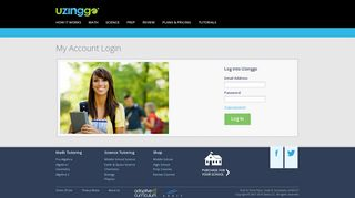 My Account Login - Uzinggo