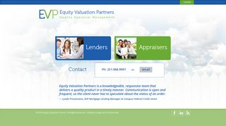 Equity Valuation Partners - Quality Appraisal Management