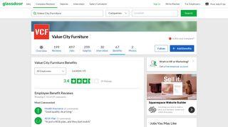 Value City Furniture Employee Benefits and Perks | Glassdoor