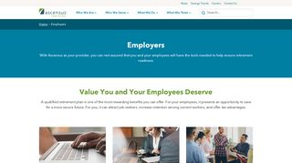Employers - Ascensus