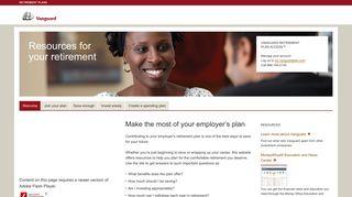 Retirement Plans Access - Vanguard - Retirement Plans