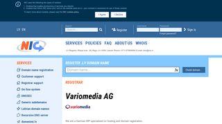 Variomedia AG - Nic.lv