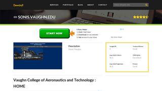 Welcome to Sonis.vaughn.edu - Vaughn College of Aeronautics and ...