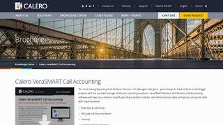 Calero VeraSMART Call Accounting | Calero