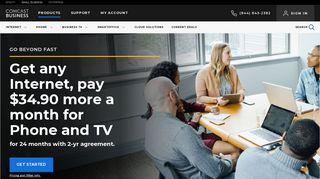 Comcast Business: Business Internet, Business Phone Services ...