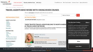 Travel agents who work with Viking River Cruises   Travel Leaders