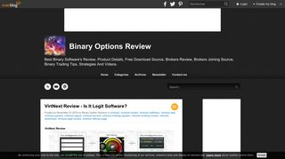 VirtNext Review - Is It Legit Software? - Binary Options Review