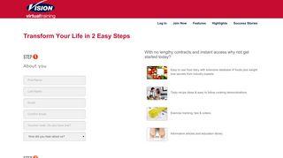 Vision Virtual Training - Vision Personal Training