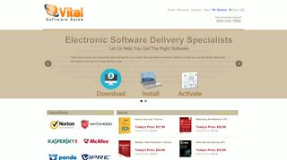 Vital Software Sales | Electronic Software Delivery Specialists
