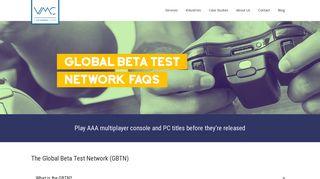 VMC | GBTN FAQ