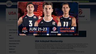 USA Volleyball Membership - Team USA
