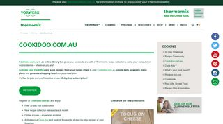 Cookidoo.com.au - Thermomix Australia