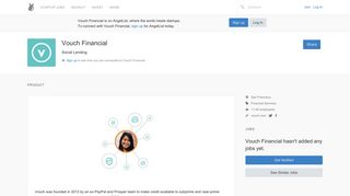 Vouch Financial Careers, Funding, and Management Team | AngelList