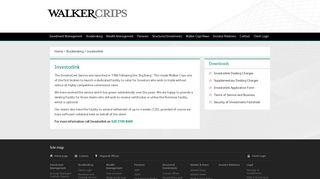 Walker Crips - Investorlink
