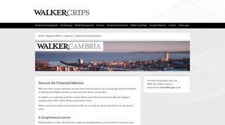 SwanseaFinancialAdvisors - Walker Crips