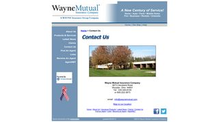 Contact Wayne Mutual Insurance - Wayne Insurance Group