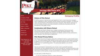 Company Profile » Pike Mutual Insurance Company