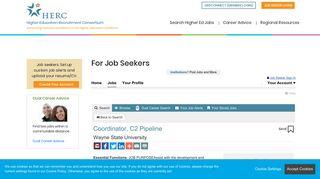 Coordinator, C2 Pipeline, Employment | HERC