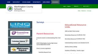 Resources / Homepage - Washington County School District