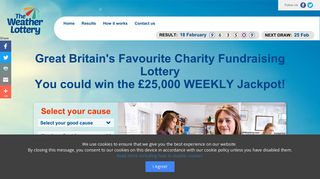 The Weather Lottery: Great Britain's Favourite Fundraising Lottery