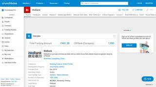 WeBank | Crunchbase