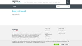 Payment methods - ePayments - Ingenico Group