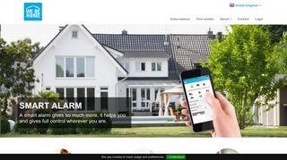 WeBeHome - Larm och Smarta Hem lösningar - direkt i din smartphone